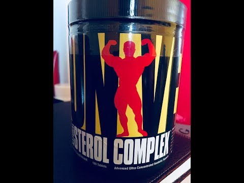 Introducing Universal Nutrition Sterol Complex: A Natural Anabolic