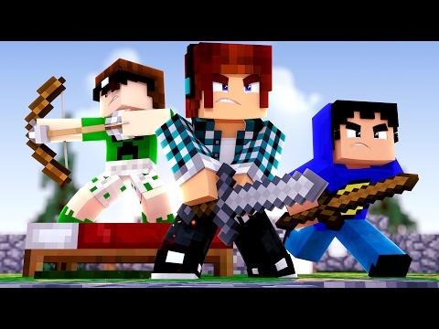 Minecraft - DEFENDA SUA CAMA COM O TAZERCRAFT !! (Bed Wars)