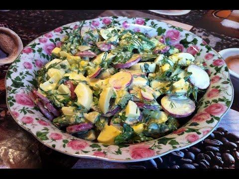 Вкусные весенние салаты с фото