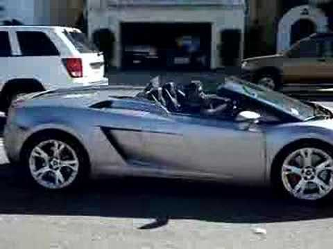 Lamborghini Gallardo Spyder in San Francisco