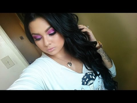 Pretty In Pink Makeup: Breast Cancer Awareness