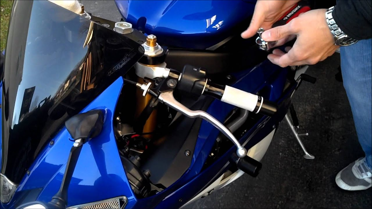 Tar How To Install Motorcycle Levers Brake And Clutch