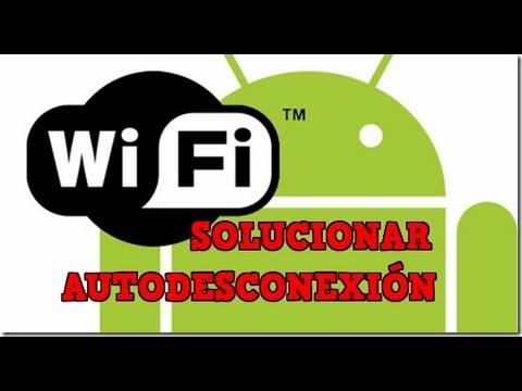 Como solucionar que el WIFI no se desconecte en Android