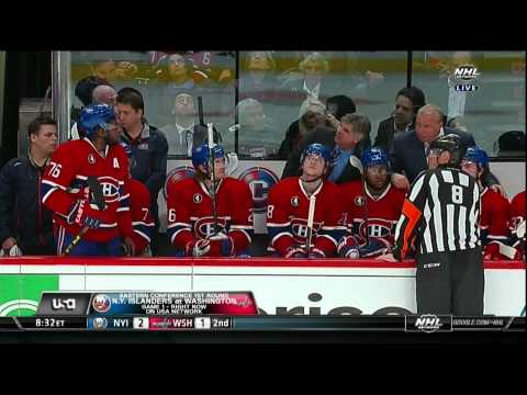 P.K. Subban slashing major on Mark Stone Ottawa Senators vs Montreal Canadiens April 15 2015