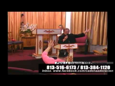 Culto Evangelistico, Concilio Pentecostal Senda Antigua Amip Tampa Florida USA. 05-03-2015