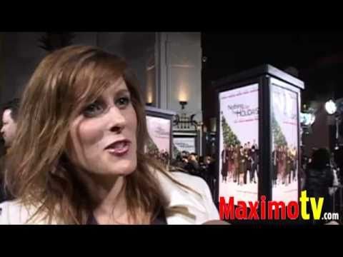 Holly Palmer at Nothing Like The Holidays Premiere Red Carpet December 2008