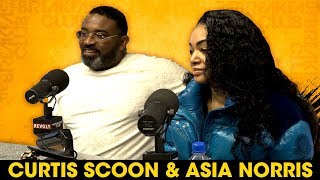 Curtis Scoon And Asia Norris Talks 'Black White & Blue' Film, Jam Master Jay + More