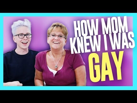 How Mom Knew I Was Gay (ft. Queen Jackie) | Tyler Oakley video