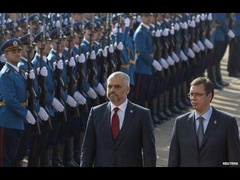 Serbia-Albania row over Kosovo mars historic Rama visit