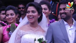Actress Amala Paul Engaged to Director Vijay | Exclusive I Marriage Reception Video