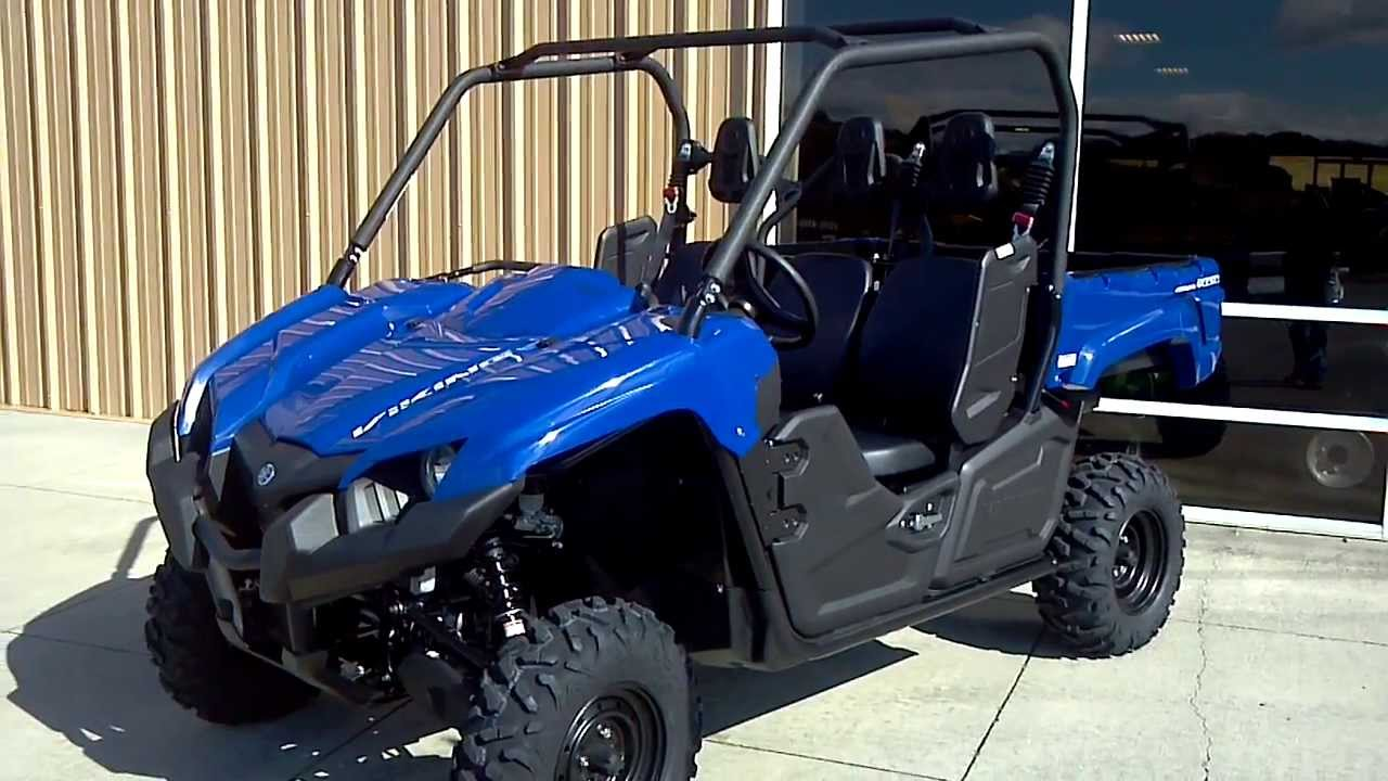 2014 yamaha viking 700 3 seater side x side in blue for Yamaha side by side 4 seater