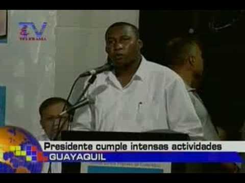 Presidente cumple intensas actividades