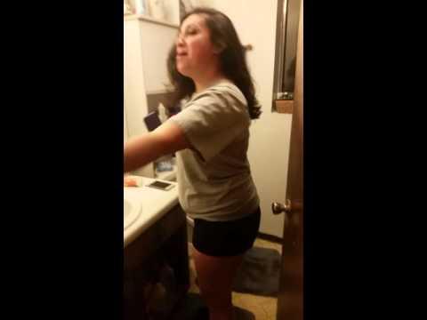 Bangin' on the bathroom floor