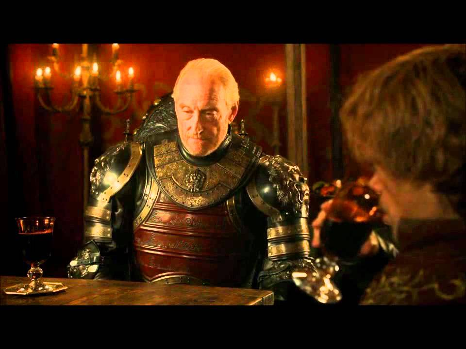 Game Of Thrones Tyrion Amp Tywin Lannister Conversation