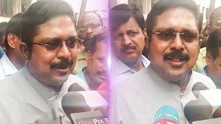 """I'm Happy for RAJA and Kanimozhi"" Says TTV Dhinakaran 