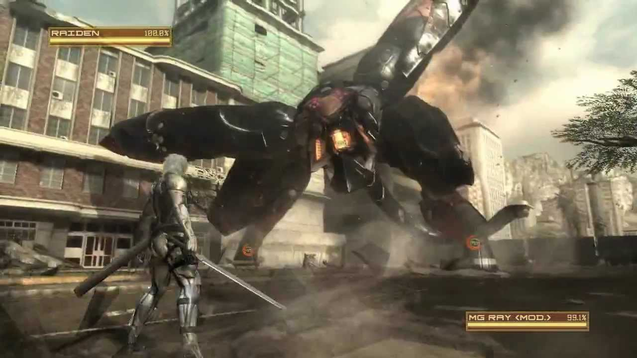 metal gear rising mg ray boss battle s rank