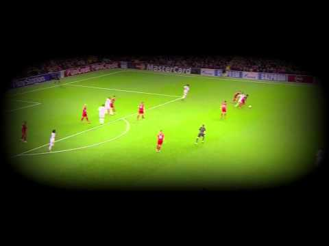 Karim Benzema vs  Liverpool 22 10 2014
