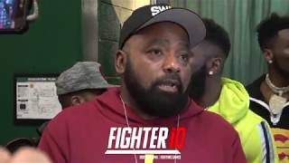 JARRETT HURD FATHER BRUTALLY HONEST ON HIS SON LOSING TO JULIAN WILLIAMS