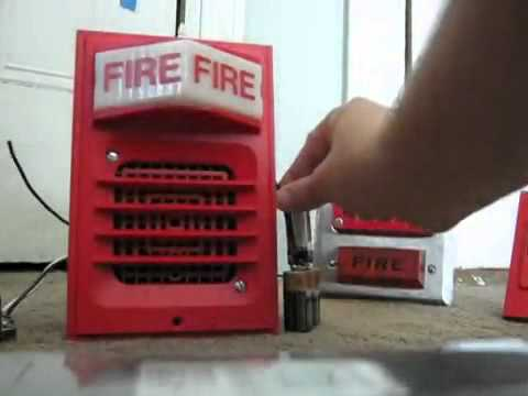Simplex 2903 2901 9806 Fire Alarm Youtube