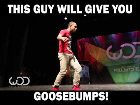 This guy will give you goosebumps amazing dancer