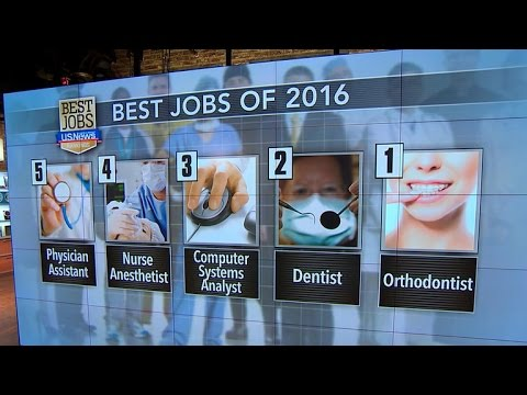 U.S. News & World Report reveals best jobs of 2016