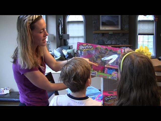 Shopkins Party Kit #unboxing