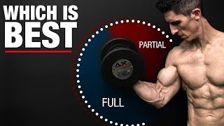Full or Partial Range of Motion Reps (WHICH IS BEST?)