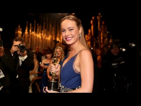 Brie Larson Wins Best Actress Oscars 2016