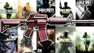 The Evolution of The M4 in Every Call of Duty