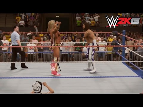 WWE 2K15 - Ultimate Warrior vs. Macho Man - Wrestlemania VII - Path of the Warrior Part 5