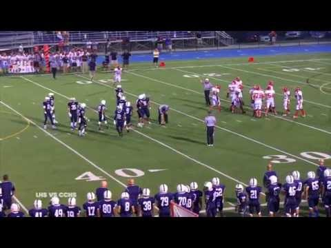 LHS Lancers vs  CCHS 2014