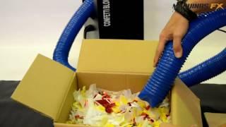 Turbina confeti Miniblower