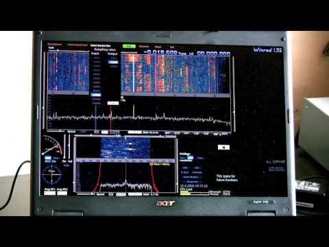 G40 SDR Transceiver kit  - first RX test