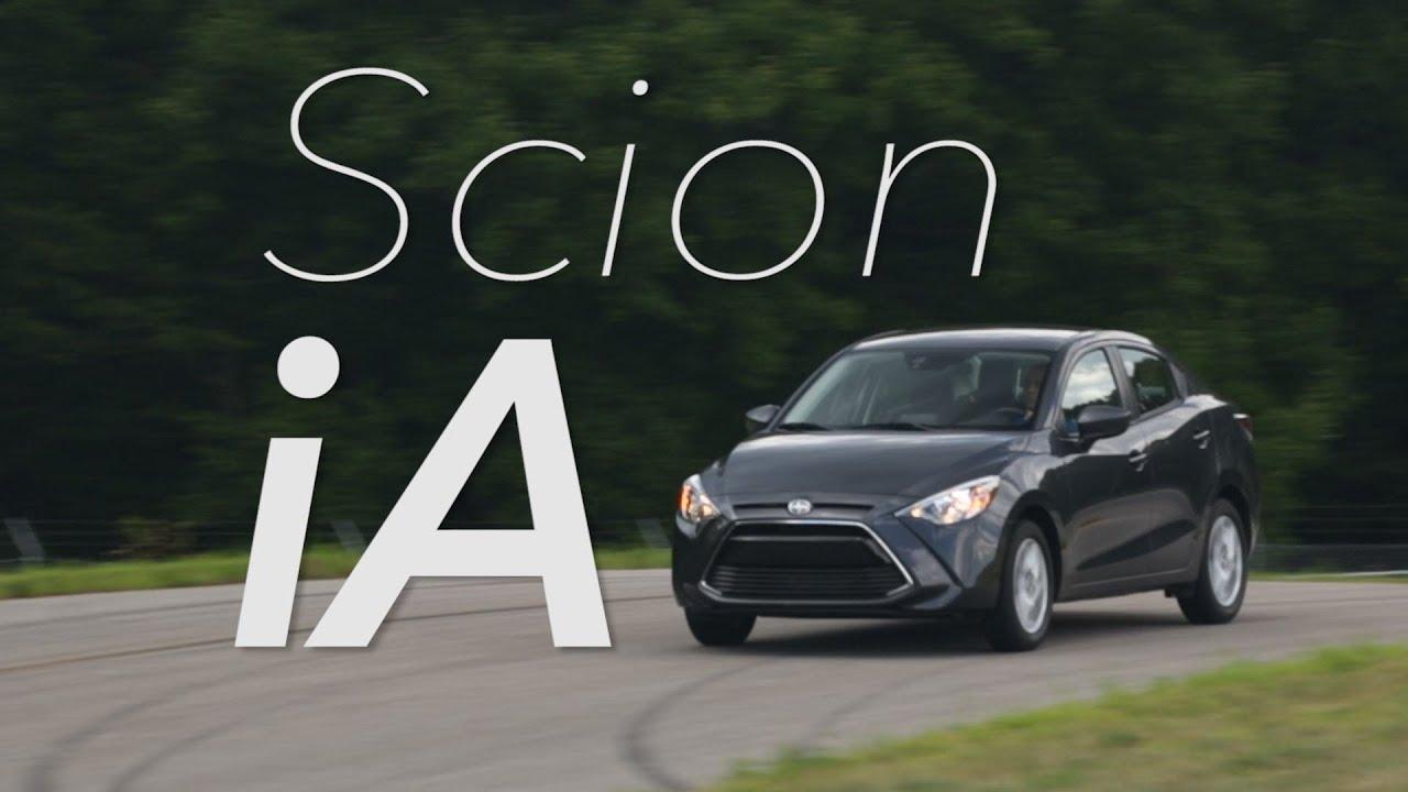2016 Scion iA Quick Drive | Consumer Reports - YouTube