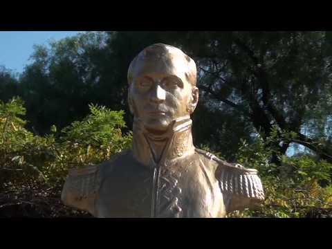 Se realizan mejoras en la plazoleta que homenajea a Manuel Belgrano