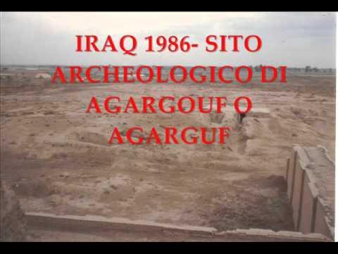 IRAQ 1986- SITO ARCHEOLOGICO DI  AGARGOUF O AGARGUF