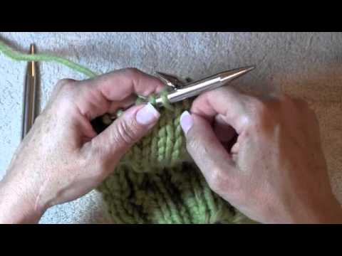Picking up the gusset stitches on a sock - YouTube