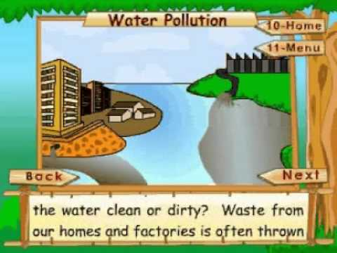 Animated Lesson to learn about Water Pollution at www ...