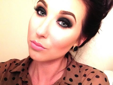 Valentines day tutorial! Classic smokey eye!   Jaclyn Hill