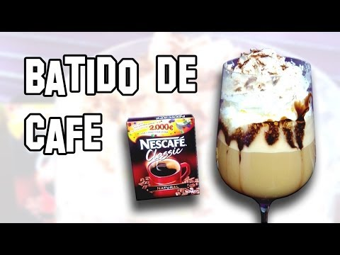 Recetas de Cocina | Batido Helado de Café