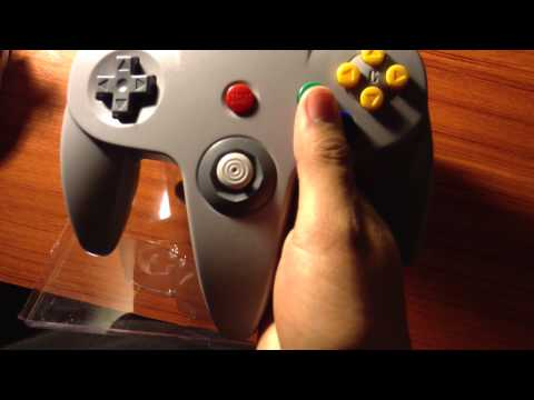 RetroLink USB N64 Classic Controller Unboxing.