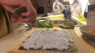 Sushi tutorial: how I make my own sushi.