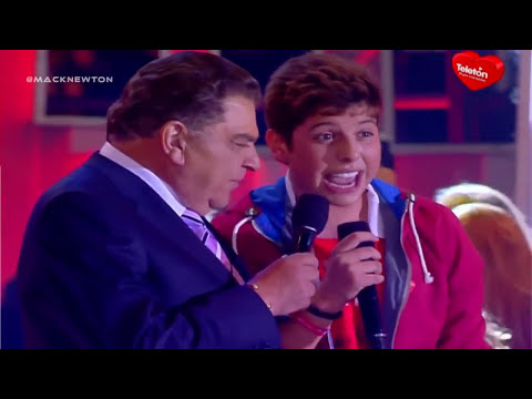 Matt Hunter - Mi Señorita Live Estadio Nacional Teleton chile 2012 HD