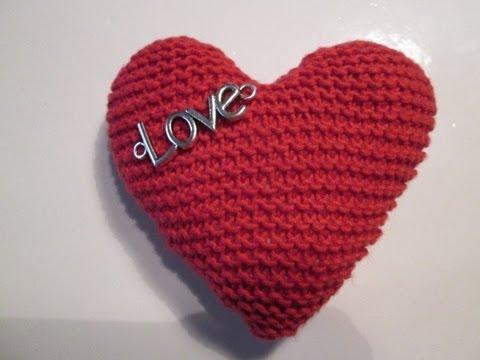 tuto tricot apprendre a tricoter un coeur coeur au tricot facile youtube. Black Bedroom Furniture Sets. Home Design Ideas
