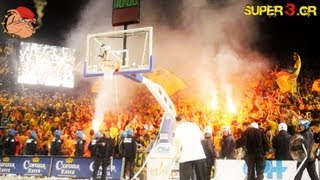 6.000 ARIS fans in Charleroi || Uleb Cup Final 2006 || Super3 archive || no.3