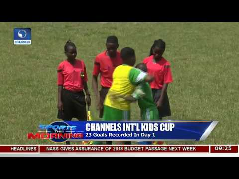 Channels Int'l Kids Cup Recorded 23 Goals In Day One Pt.2  Sports This Morning 
