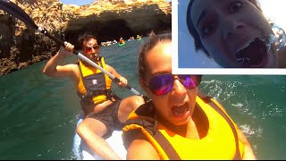 CRAZY KAYAKING ADVENTURE!!! | EuroTrip Erik & Domisha DAY 15
