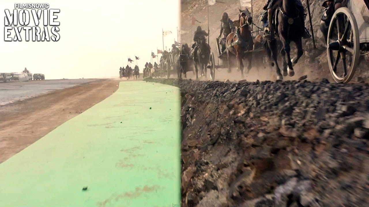 Exodus: Gods and Kings VFX Breakdown By MPC (2014)