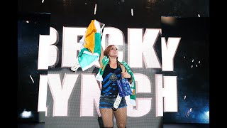Becky Lynch's raucous homecoming in Dublin