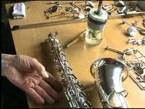 Reparacion de saxofones